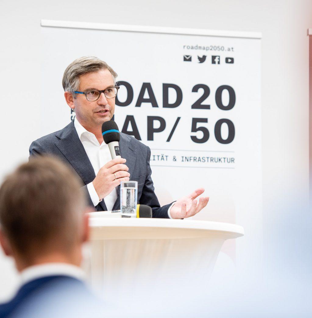 Eröffnungskeynote von Staatssekretär Dr. Magnus Brunner © Zsolt Marton