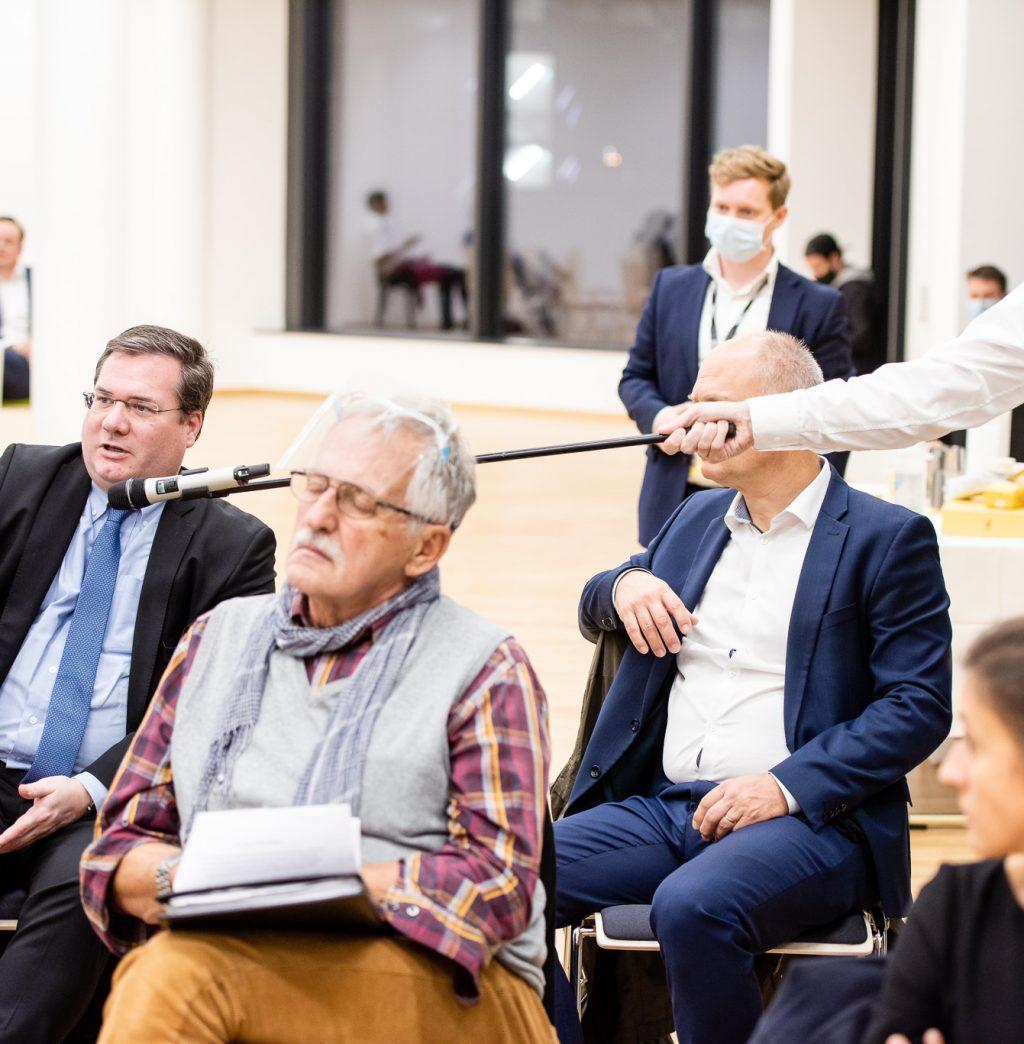 Frage aus dem Publikum © Zsolt Marton