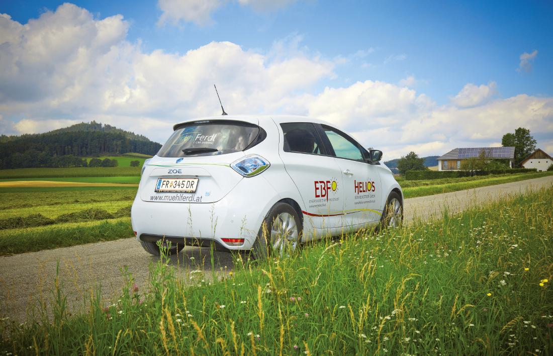 Intelligentes  und sauberes Fahren  mit Strom